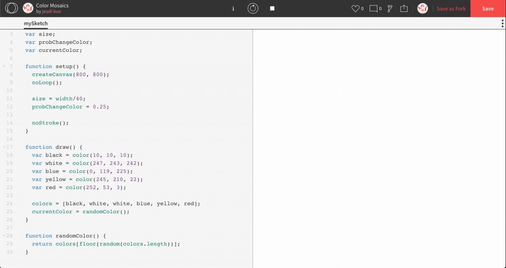 設定顏色與隨機程式