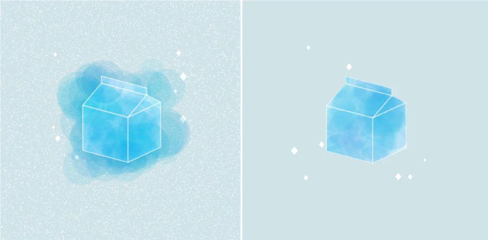 《互動藝術程式創作入門》學生作品 Coco Ke的〈牛奶盒〉