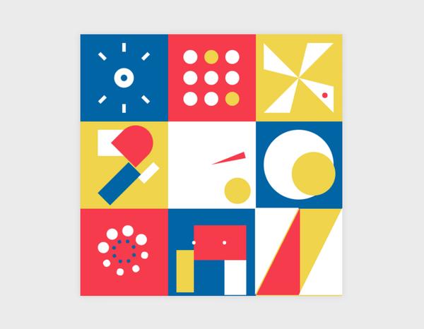 練習Canvas Translate / Rotate 跟 Scale的進階繪製
